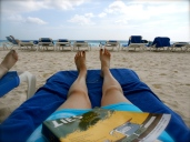 Book and Beach